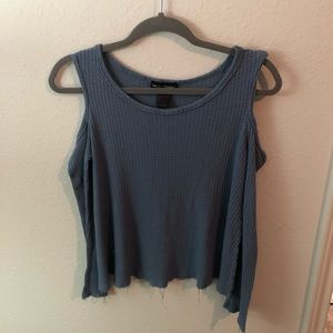 Size S boho See You Monday cold shoulder top